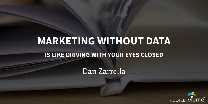 Marketing without data